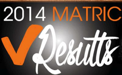 2014 Matric Results Announcement